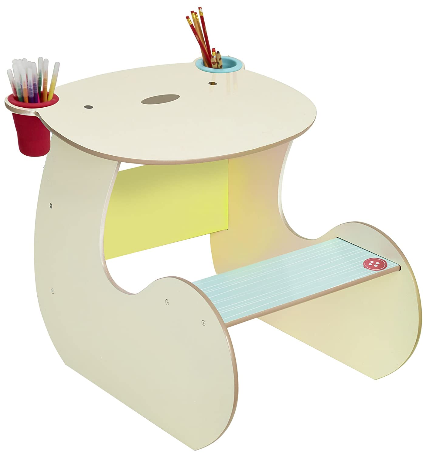 BearHug Childs Craft Desk - Kids Table and Stool by HelloHome Worlds Apart 517SNG01E