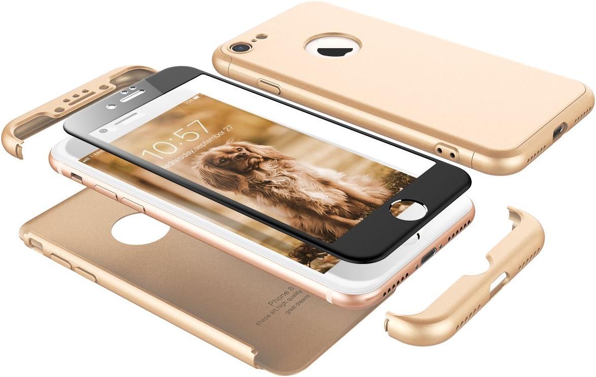 VemMore Cover per iPhone 7 / iPhone 8 Rigida Case Ultra Sottile 3 ...