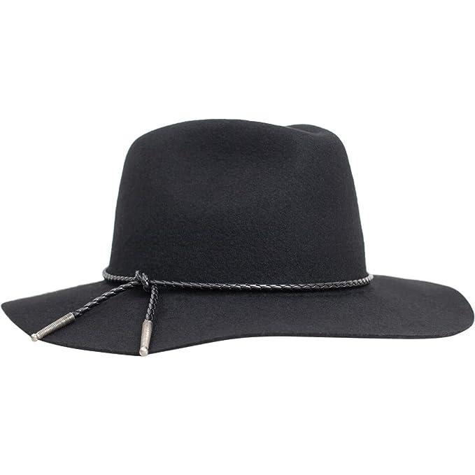 fa0156c72fd25 Brixton - Sombrero de vestir - para mujer Negro negro  Amazon.es  Ropa y  accesorios