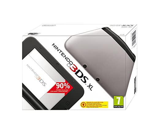 Nintendo 3DS - Consola XL, Color Negro Y Plata: Amazon.es ...