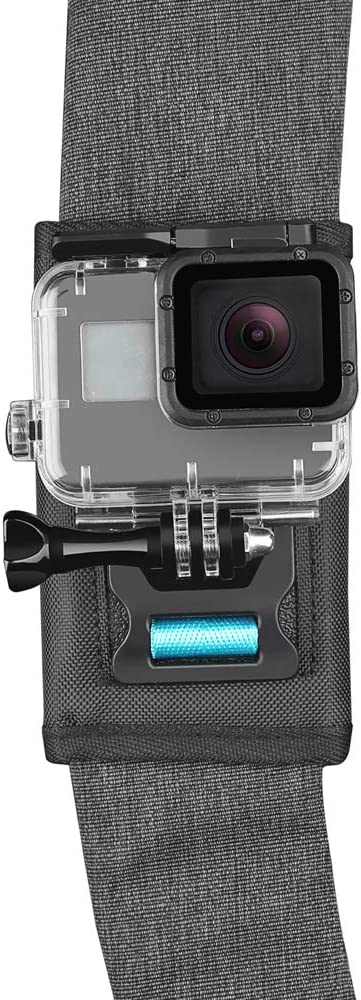 Insta360 one X,Xiaomi Mijia GoPro Hero 7 Travel Bag Accessory Linghuang 360 Degree Rotation Backpack Clip Mount Quick Release Shoulder Belt Mount for DJI Osmo Action