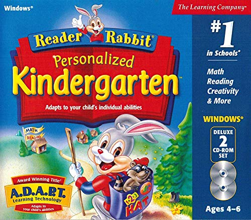 Reader Rabbit Personalized Kindergarten (2 CDs)