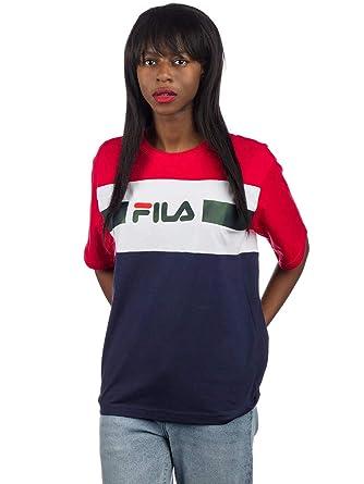 Fila Damen T-Shirt Shannon T-Shirt: Amazon.de: Bekleidung
