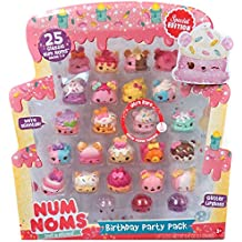 Num Noms Birthday Party 25pc Pack (Includes Ultra Rare Glitter Connie Confetti)