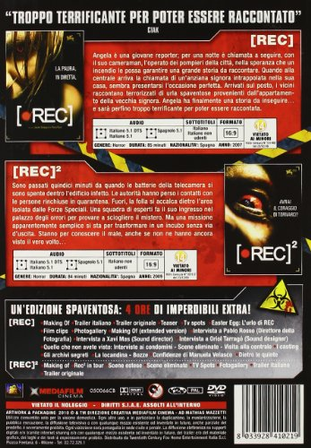 Rec / Rec 2 Virus Edition (3 Dvd) - IMPORT