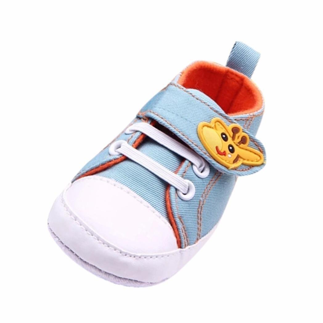 1bd37d26 Zapatos Bebe,Fossen Suela Blanda Primeros Pasos del Antideslizante para  Recién Nacido Niña Niño product