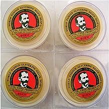 Col. Ichabod Conk Glycerin Shave Soap, 2.25oz (Bayrum 4 Pack)