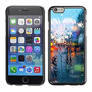 A-type Arte & diseño plástico duro Fundas Cover Cubre Hard Case Cover para Apple Iphone 6 Plus 5.5 (Seco Luces de cristal)
