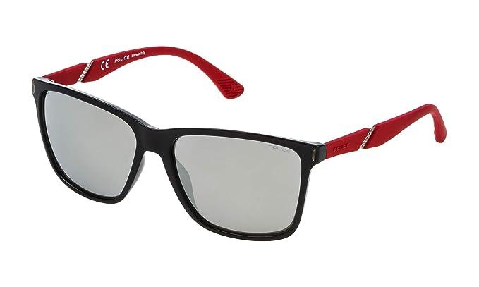 Police SPL52958Z42X Gafas de Sol, Negro, 58 Unisex: Amazon ...
