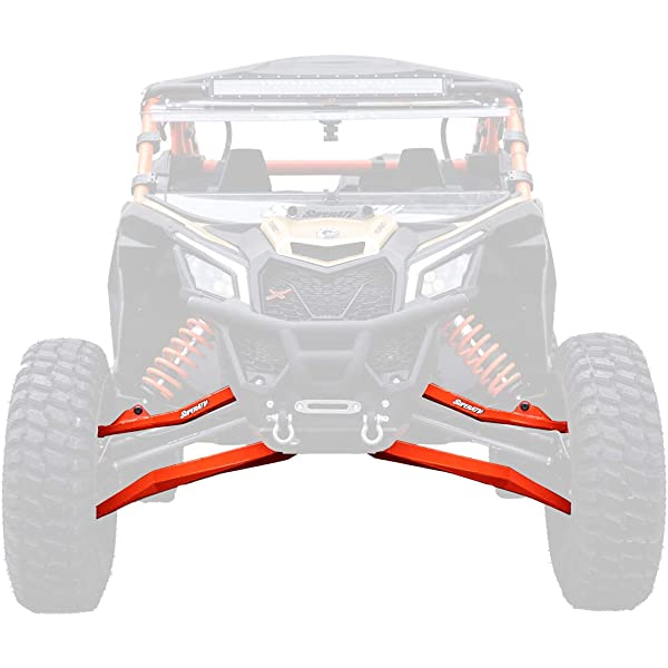 Yellow XRS X DS High Clearance Front A-Arms SuperATV Can-Am Maverick Max