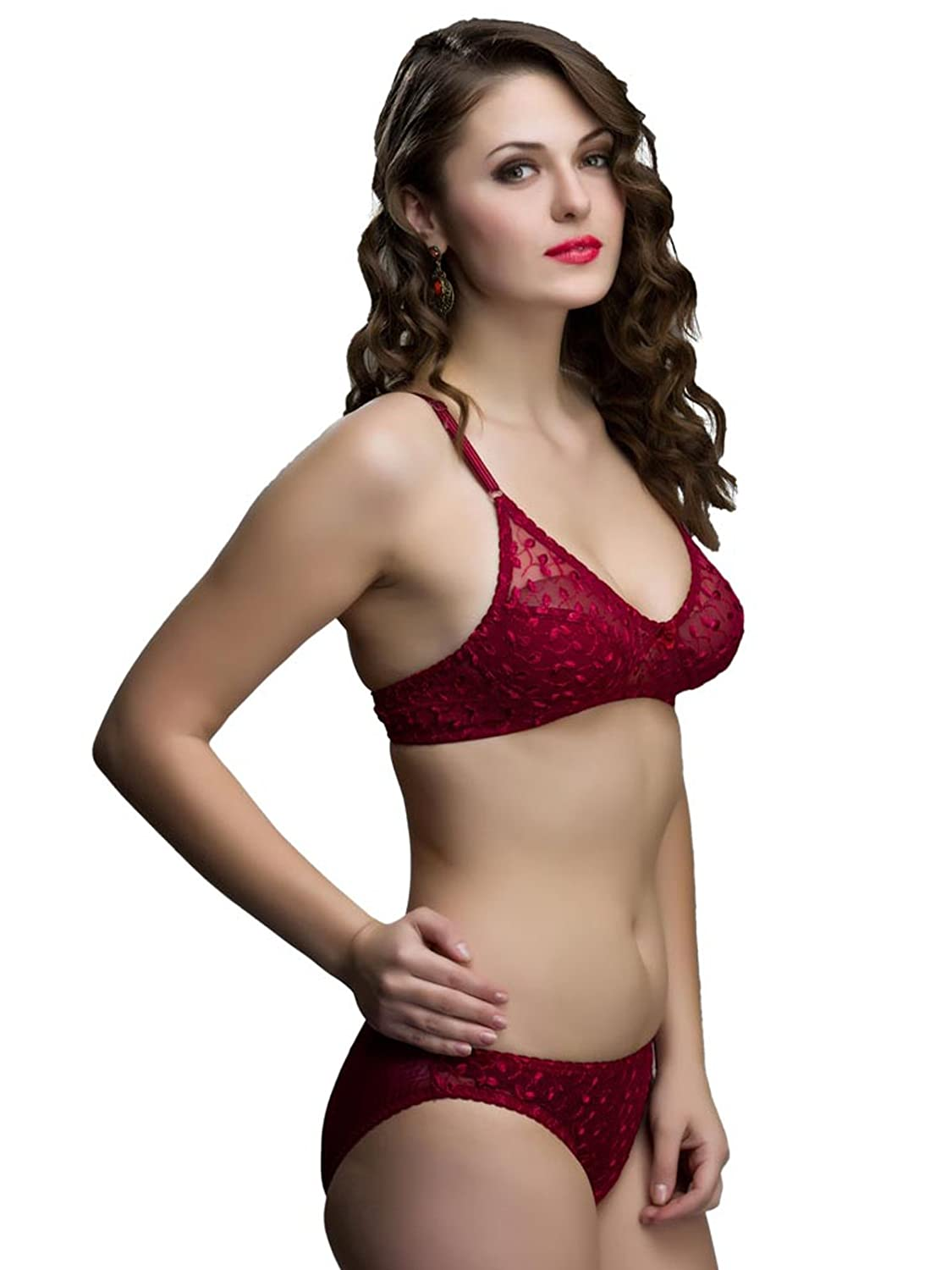 e3b69de3ac9 College Girl Womens Bra and Panty Set: Amazon.in: Clothing & Accessories