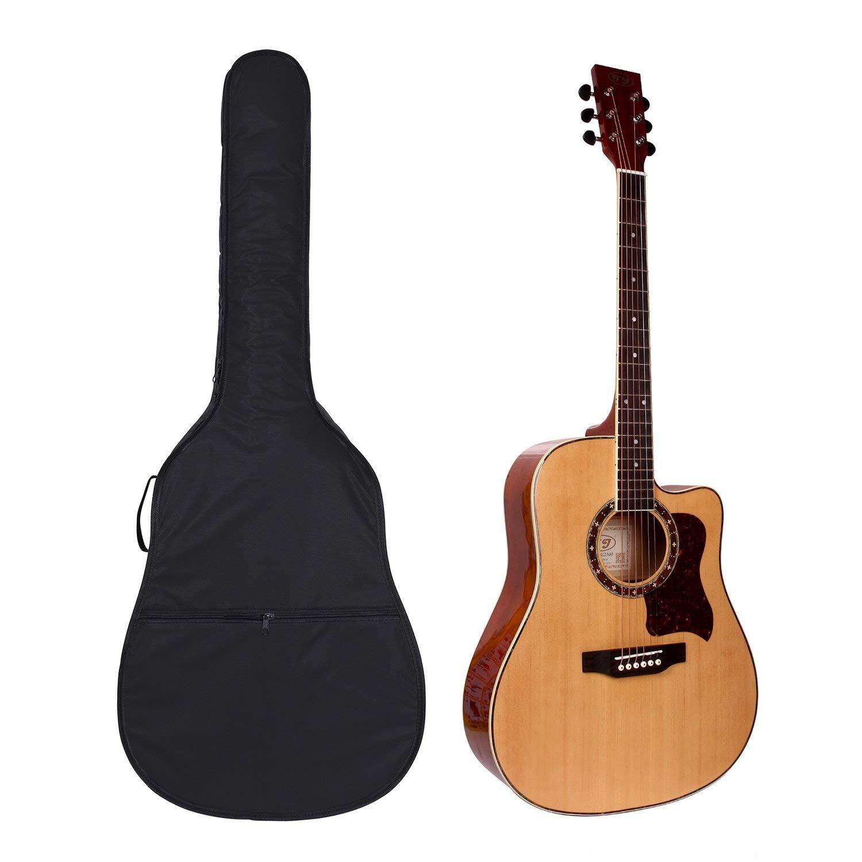 dise/ño de mochila para guitarra ac/ústica y cl/ásica Funda para guitarra de 104 cm