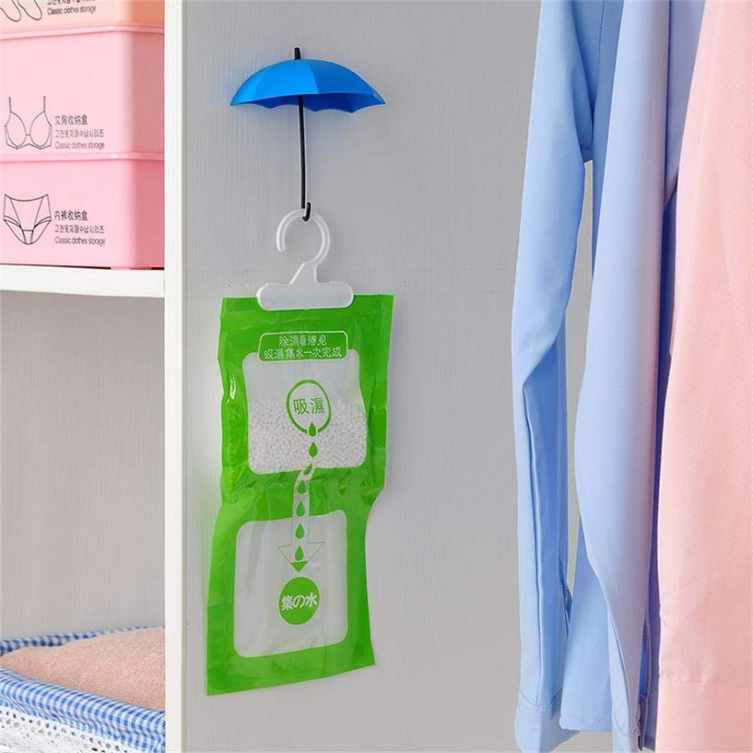 Amazon.com: FreshZone 12Pcs Colorful Umbrella Wall Hook Key Hair Pin Holder Organizer Decorative Organizer Dishes Mounted Storage Rack: Home & Kitchen