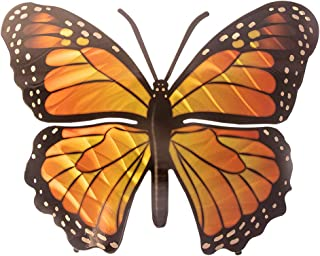 product image for 3D Metal Wall Art - Butterfly Wall Decor - Monarch Butterfly Handmade in the USA for Use Indoors or Outdoors