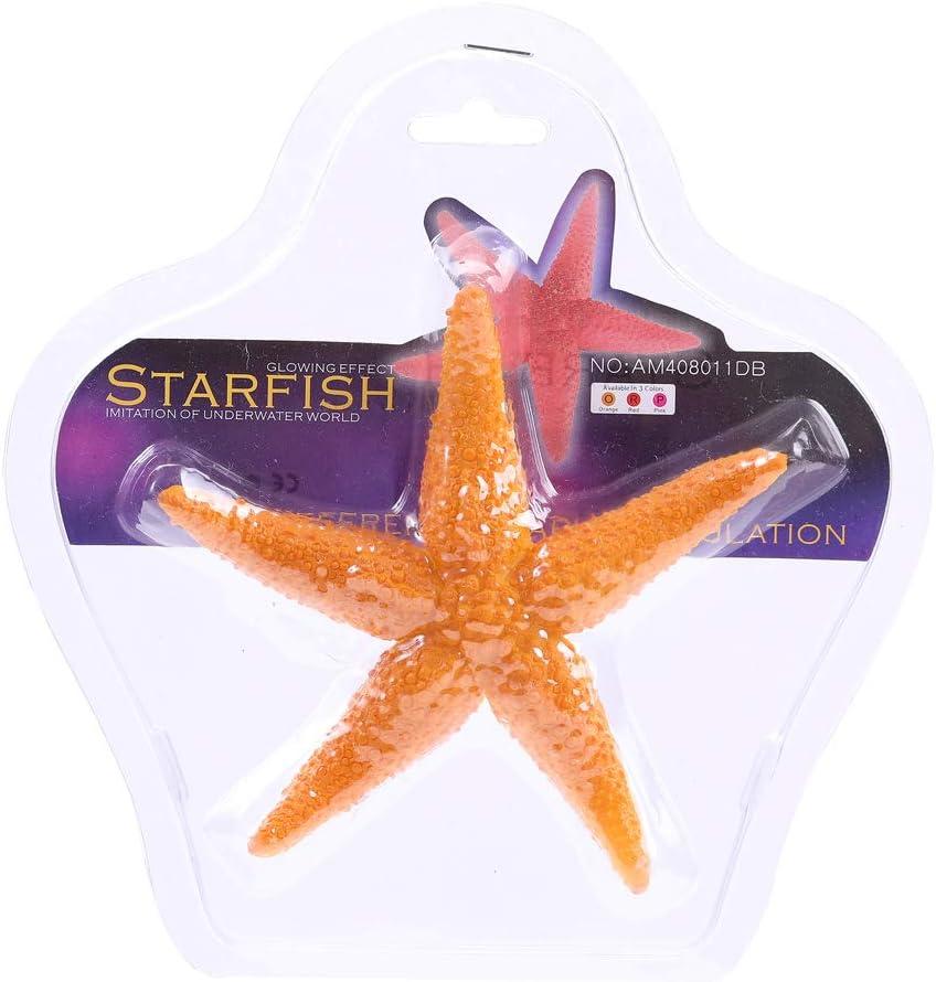 Aquazoo Aquarium Accessories Starfish Tank Ornament Silicone Coral Plant Decorations Artificial Ornament