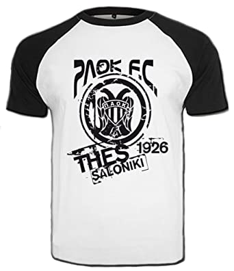 b8bd5955ef54 PAOK Thessaloniki T-Shirt Greece Hellas Saloniki - - XL  Amazon.co.uk   Clothing