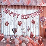 24 pcs light pink Heart Shape Foil Mylar Balloons