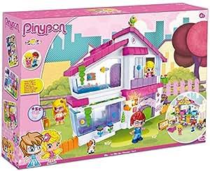 Famosa - Pinypon villa, con muñecos, 58 x 40 cm (700012409)