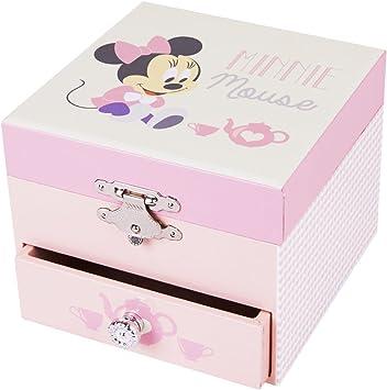 Trousselier Caja de música 20201 - Disney Motivo Minnie Cube Series (Caja de música, Caja de música, Cajas de música): Amazon.es: Juguetes y juegos
