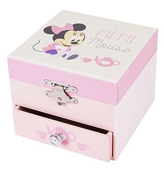 Trousselier Caja de música 20201 - Disney Motivo Minnie Cube Series (Caja de música,