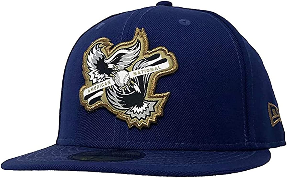 Red Blue Hat New Era MLB LA Los Angeles Dodgers 59FIFTY Stately Fitted Cap