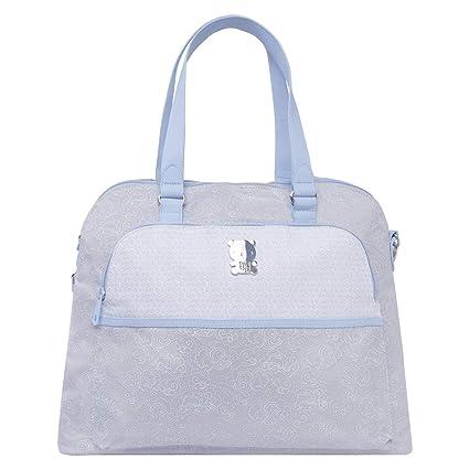 Tuc Tuc 07727 - Bolsa maternidad y cambiador, color caramel/celeste