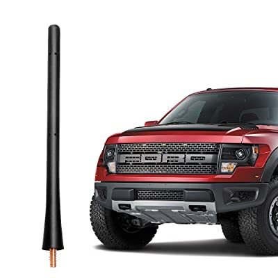VOFONO 7 Inch Rubber Replacement Antenna fits 2009-2020 Ford F150 & Dodge Ram 1500: Automotive