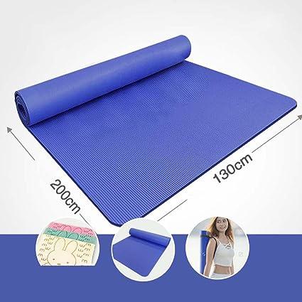 YJD Más tamaño 200 cm Doble Estera de Yoga Engrosamiento 15 ...