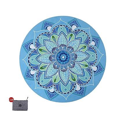 Amazon.com: DZX - Alfombrilla de meditación para yoga ...
