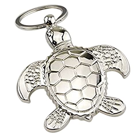 Atommy 1Pcs Llavero de la tortuga Llavero redondo lindo del ...