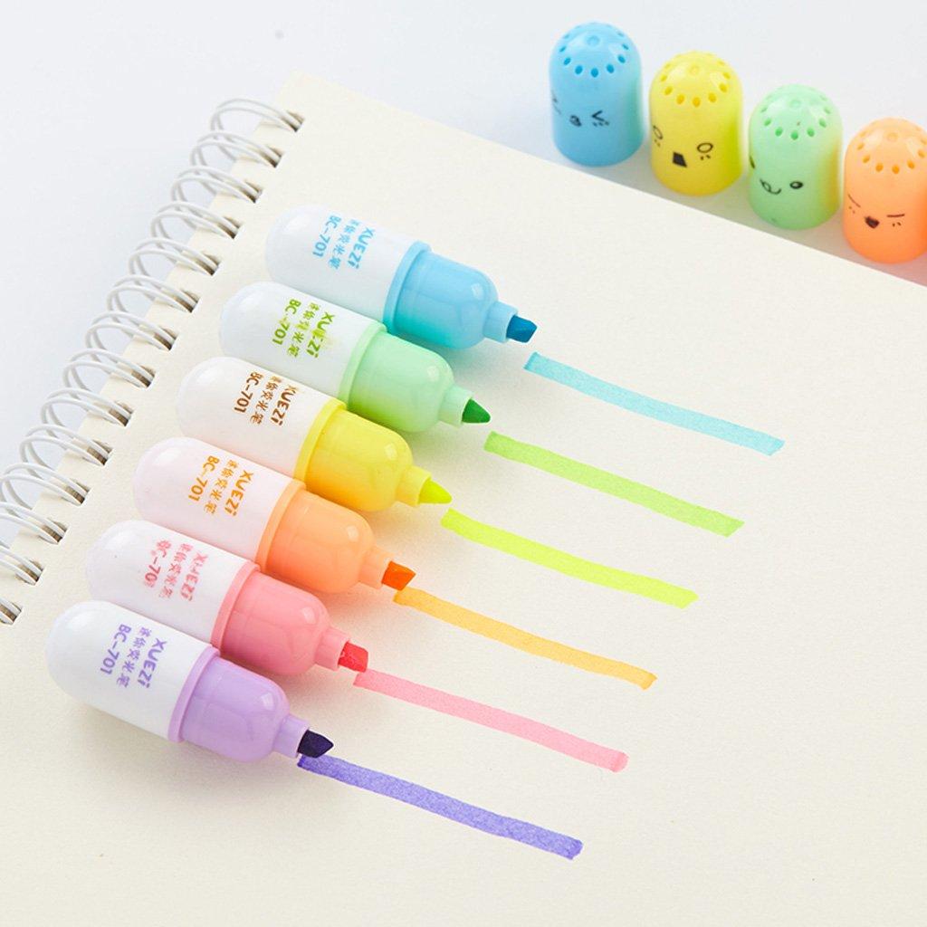 Redriver Mini Highlighter Pen, Pill Leaves Eggs Shape (Pill) by Redriver (Image #4)