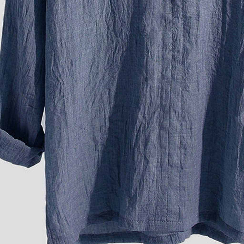 8be6a3bac16bb Amazon.com : YKARITIANNA 2019 New Fashion Men's Causal Shirt ...