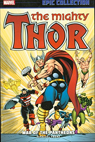 THOR Epic Collection War of the Pantheons (2013) Marvel Comics TPB 1st new