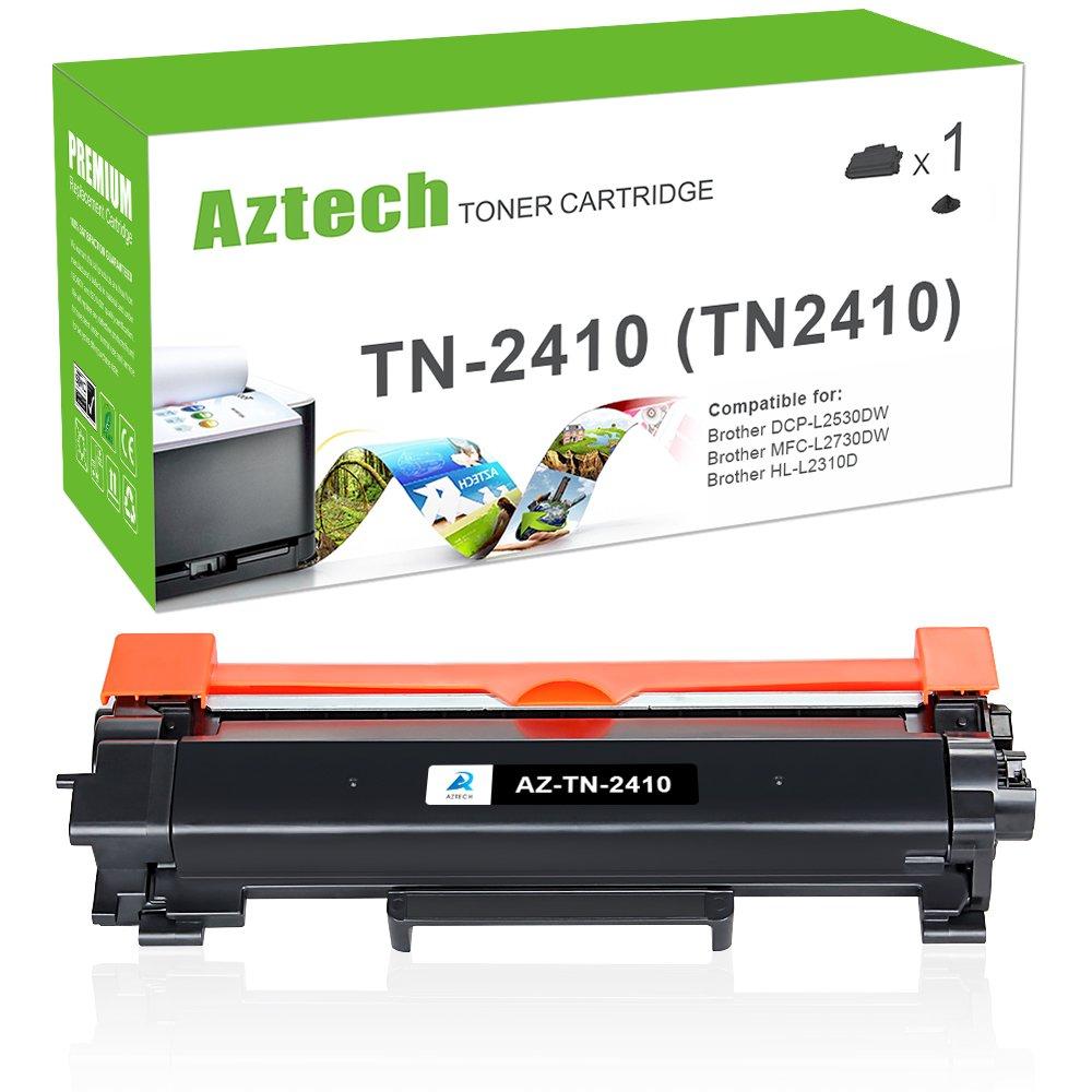 Aztech 1 Pack Tóner Repuesto para Brother TN2410 TN 2410 TN-2410 ...