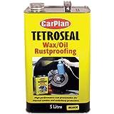 Tetroseal Waxoil Car Rustproof Coating Car Rust Proof Black 5 Litre/Ltr TWO006