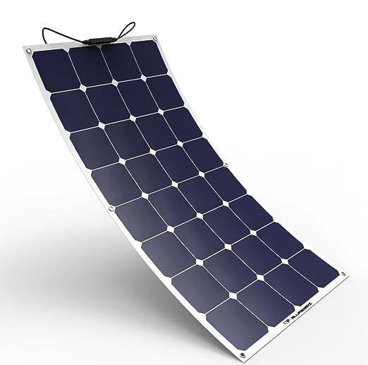 5 opinioni per ALLPOWERS 100W 18v 12v Pannello Solare Caricabatterie Solare SunPower Flessibile