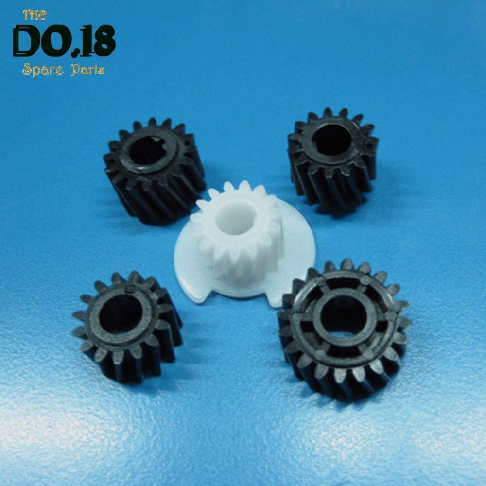 Printer Parts 5 Sets Developer Gear Kit Set for Yoton Aficio AF 1013 1515 175 3320 MP 161 171 201 MP161 MP171 MP201 AF1013 Developer Gear
