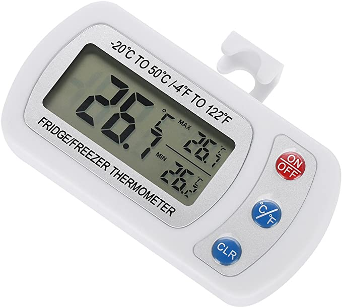 Compra Fdit Impermeable Digital de Termómetro de Refrigerador ...