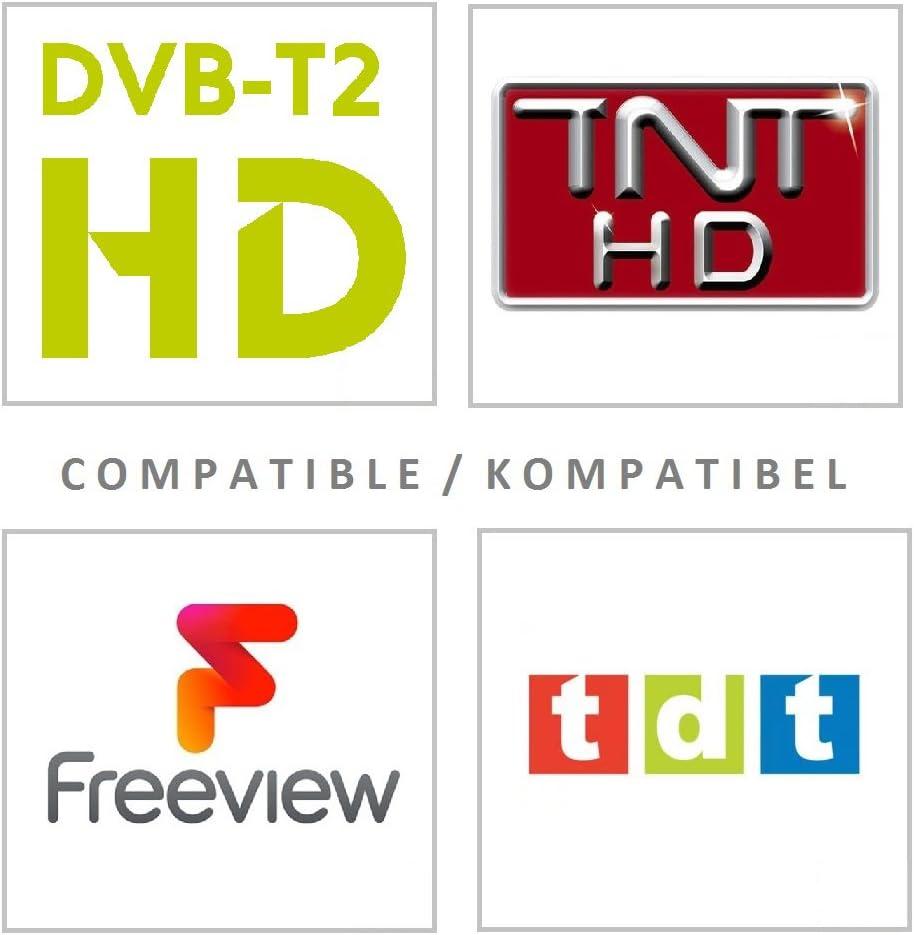 One For All SV9335, Antena de TV Amplificada para Interior, Recibe ...