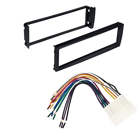 amazon com 96 98 civic honda car stereo radio dash installation  image unavailable image not available for color 96 98 civic honda car stereo radio dash installation mounting kit with wiring harness