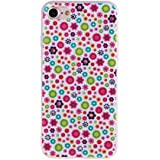 DDLBiz Retro Colorful Pattern Phone Case Cover for iPhone7 4.7inch