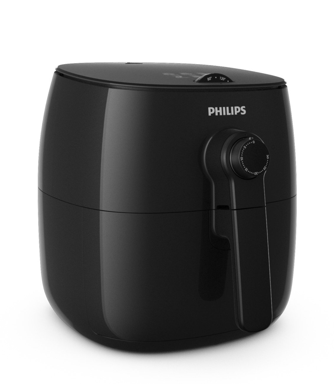 Philips HD9621/96 Viva Turbostar Airfryer (1.8lb/2.75qt), Black