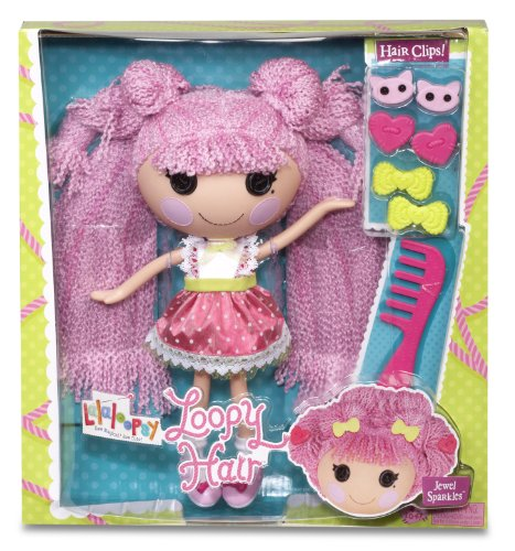 Lalaloopsy loopy hair doll jewel sparkles import it all for Lalaloopsy jewel sparkle coloring pages