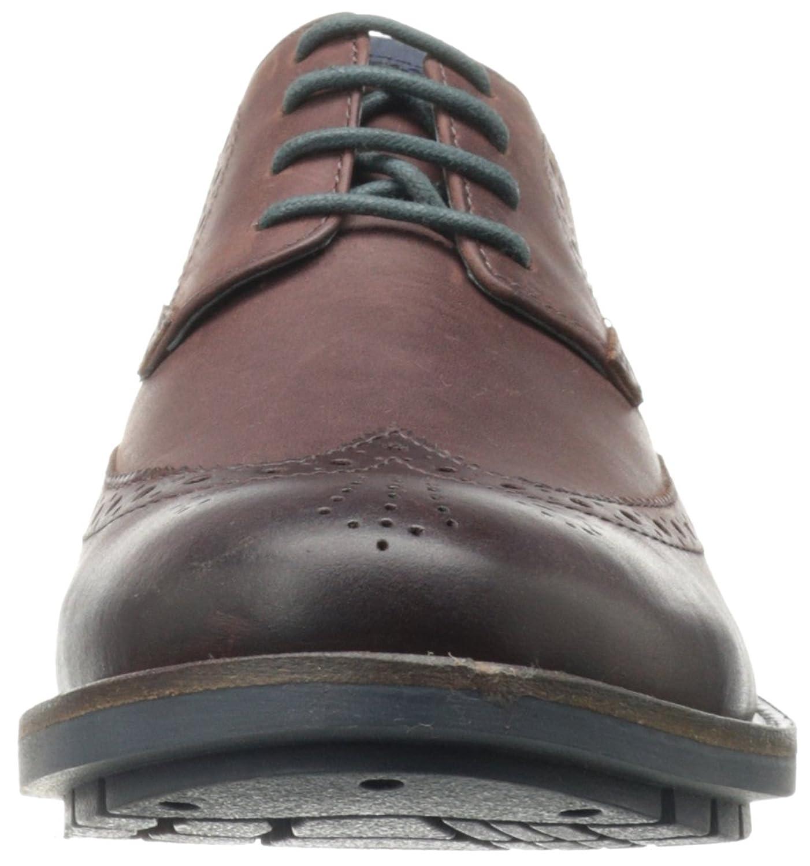 Amazon.com   Clarks Men's Garnet Limit Oxford, Chestnut Leather, 7.5 M US    Oxfords