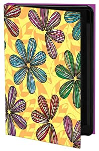 Keka Classic - Funda para Samsung Galaxy S4 (fijación a presión), diseño de pétalos de flores de Leska Hamaty
