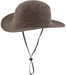 e58cb2a3 Magracy Mens Outdoor Sun Hat Summer Wide Brim Bucket Hat Fishing Hats  Breathable Boonie Safari Hats