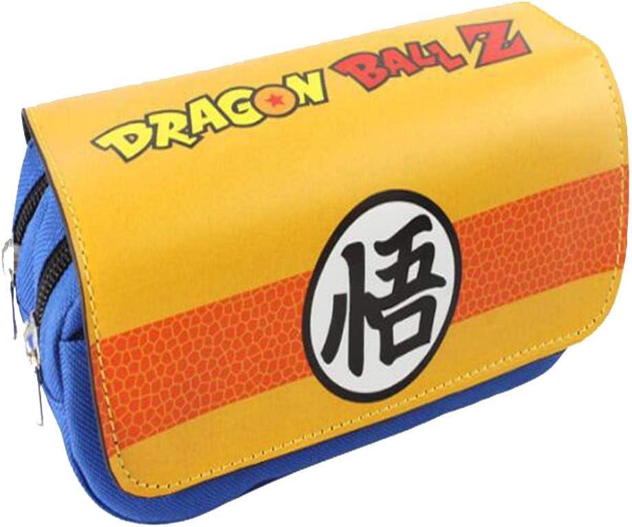 Etruke Dragon Ball Goku - Estuche para lápices (tamaño pequeño), diseño de bola de dragón, color 6: Amazon.es: Oficina y papelería