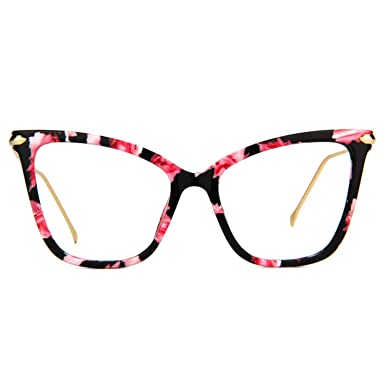 12508472983 Zeelool Chic Butterfly Eyeglasses for Women Hilary FX0206-01 Pink Floral