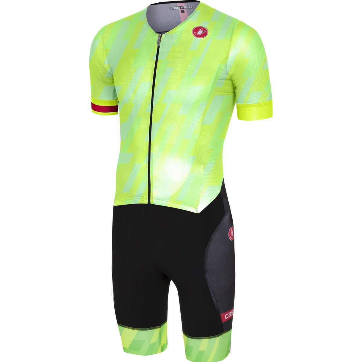 CastelliメンズFree Sanremo Short Sleeve Tri Suit XX-Large Pro Green B079RL2ZWZ