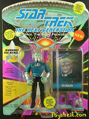 Star Trek TNG Mordock the Benzite action figure Playmates 60574 ^G#fbhre-h4 8rdsf-tg1330822
